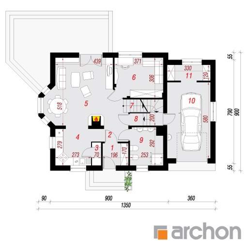 Dom W Rododendronach 6 P Architekt Legionowo Warszawa